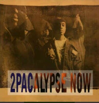 Ultra Rare 2Pac 2Pacalypse Now Lp Vinyl 1991 German Press Interscope Records