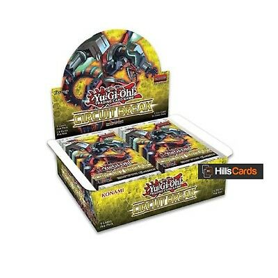 Yu-Gi-Oh Circuit Break Sealed Booster Box of 24 Packs: SPYRAL Support: TCG Cards