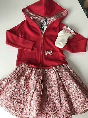 Gorgeous Little girls 3 piece outfit Age 3-4 1 of a kind not on high street