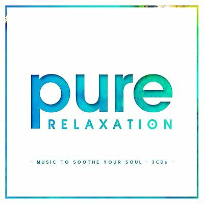 Pure Relaxation 3 Cd Set Various Artists - New Release October 2017