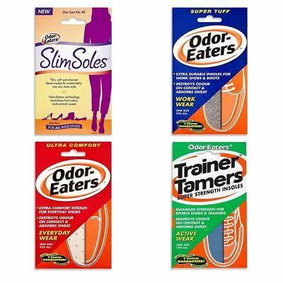 Odor-Eaters Super Tuff Trainer Tamer Ultra Comfort Insoles Shoes 1, 2, 3, 5 Pack