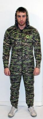 Q-DOS One Piece Camo Fleece Thermal Undersuit Bivvy Sleep Suit Base Layer