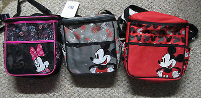 """Disney Baby  Mickey Mouse or Minnie 10"""" X 10"""" Diaper Bag-3 Styles-Choose 1"""