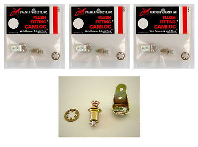 """Prather # 4060 """"flush Fitting Camloc"""" (3 Packets) **"""