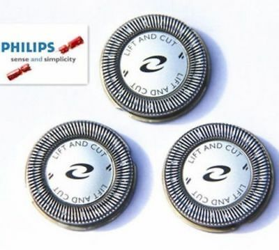 3xPhilips Norelco HQ3/4/55/56 Replacement Shaver Heads Razor Blades Foil Cutters