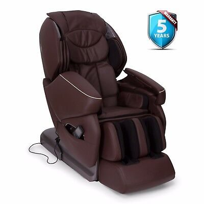 Fauteuil de Massage NIRVANA - Marron - GARANTIE PLUS 5 ANS - (BE)