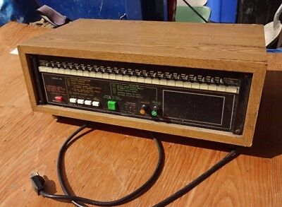 Bogen Master Control Panel Mcp35A With Sba225 In Wood Case