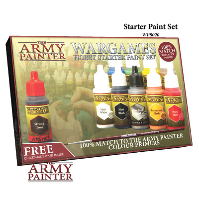 Warpaints Starter Paint Set - *The Army Painter*