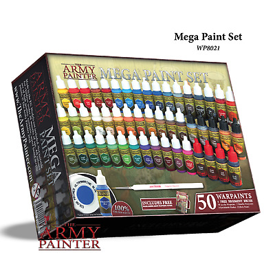 Warpaints Mega Paint Set III - *The Army Painter*