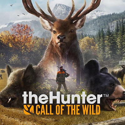 theHunter: Call of the Wild NEW STEAM ACCOUNT[PC/REGION FREE/CHEAPEST PRICE]