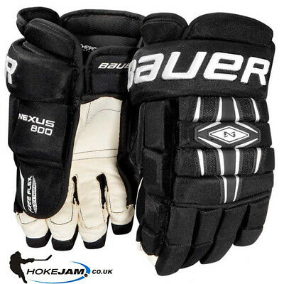 Bauer Nexus 800 Ice Hockey Gloves Size Senior Hokejam.co.uk