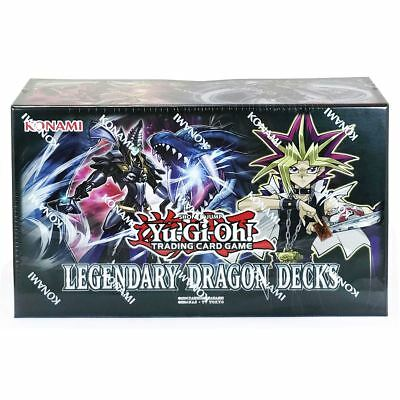 New Yu-Gi-Oh! 2017 Legendary Dragon Decks Box Trading Cards Konami Official