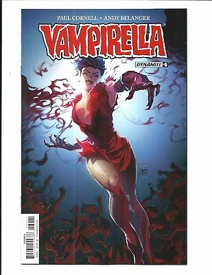 Vampirella # 6 (Dynamite, Tan Cover A, 2017), Nm/M New
