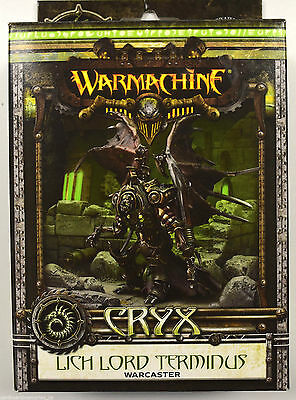 Warmachine Cryx Lich Lord Terminus Warcaster PIP 34034 - NEW