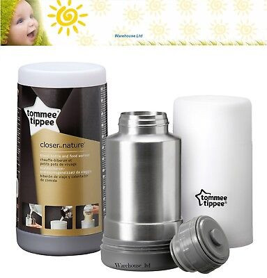 Tommee Tippee Closer to Nature Travel Baby Bottle Warmer Fast Delivery