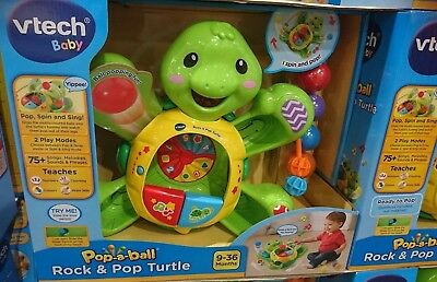 NEW VTECH Rock and Pop Turtle