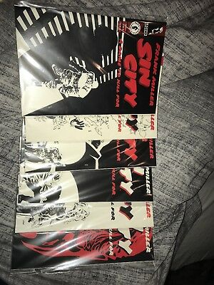 Sin City A Dame To Kill For Comic Collection #1-6