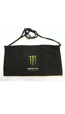 "Monster Energy Drink Logo Claw Server Bar Tender Apron. Free Shipping Buy ""2"""