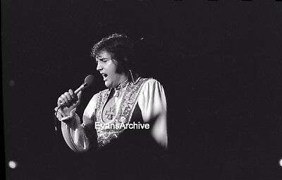 1970s Elvis LIVE Concert Cleveland 35mm Original Negative