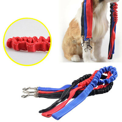 New Dog Leash Training Lead Belt Elastic Bungee Traction Rope Doggy Pet Supplies