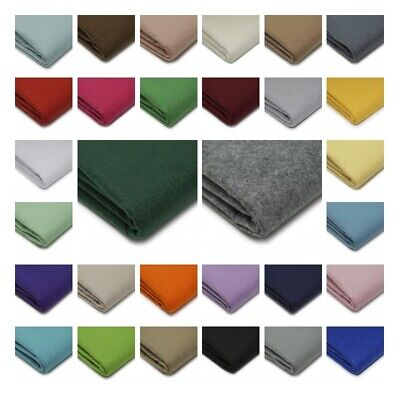 Quality Craft Felt Fabric Material - 100% Acrylic - 1.5mm Thick - 150cm Wide