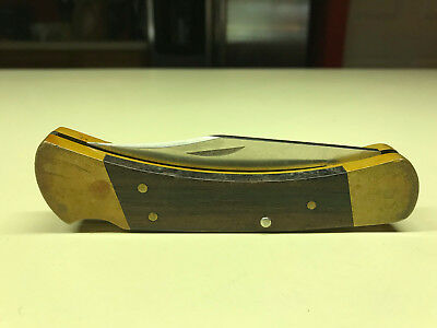 BUCK #110 Hunting Camping Folding One Lock Blade Pocket Knife Made In The USA