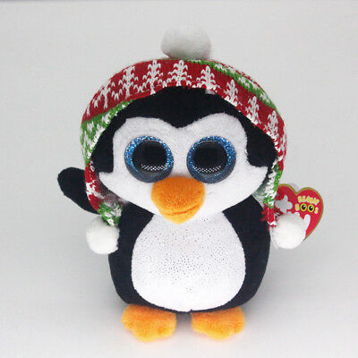 """Ty Beanie Boos 6"""" Penelope Stuffed Plush Toy Children Gifts Animals Soft Toys"""