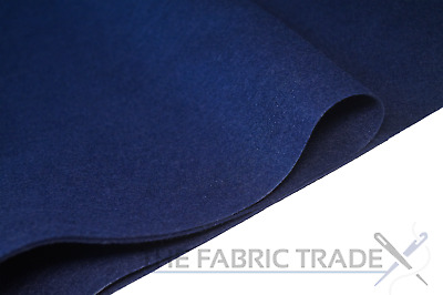 Navy Blue Craft Felt Fabric Material - 100% Acrylic - 2mm Thick - 150cm Wide