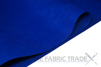 Royal Blue Craft Felt Fabric Material - 100% Acrylic - 2mm Thick - 150cm Wide