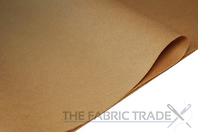 Teddy Brown Craft Felt Fabric Material - 100% Acrylic - 2mm Thick - 150cm Wide