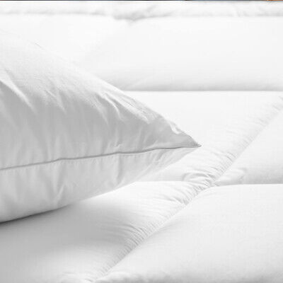 New Duck Feather And Down Duvet Quilt, All Sizes All Togs And Pillows