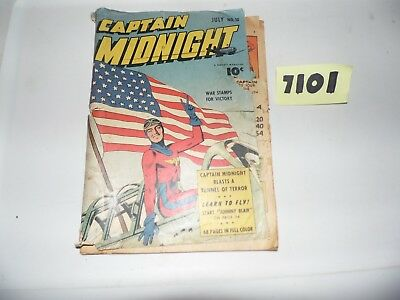 Captain Midnight #10 (Fawcett), Classic Golden Age 1943