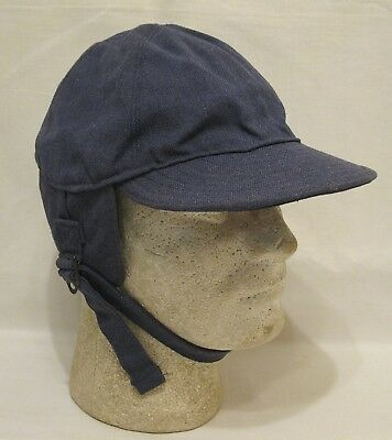 WWII WW2 U.S. Army Air Force AAF D-1A Cap Air Crew Heavy Large Great Condition