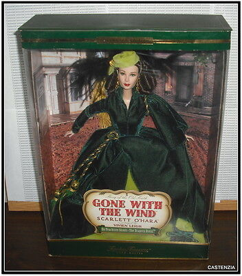 Nrfb Barbie  Gone With The Wind Drapery Scarlett O'hara Timeless Treasures