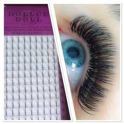 Dollce Doll Premade Russian Volume Lash Fans 5D Semi Permanent Eyelash Extension