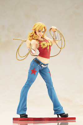 Kotobukyia DC COMICS WONDER GIRL BISHOUJO STATUE New MIB