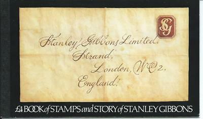 Gb - Story Of Stanley Gibbons Stamp Booklet - One Stamp Missing
