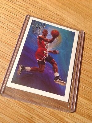 Michael Jordan Lovely UD NBA Basketball Trading Card