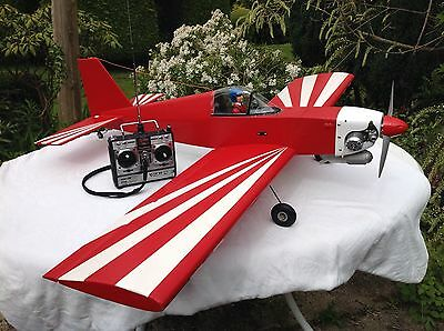 Inwood 'Pacer' RC Model Aircraft, OS 46 SF Powered, Built & Equipped for Flight