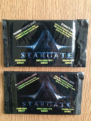 Stargate Premium Trading Cards Collect-A-Card 2 Sealed Packs