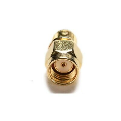 RP SMA Male Plug to SMA  Female 50Ω Adapter Coaxial Connector - UK Seller