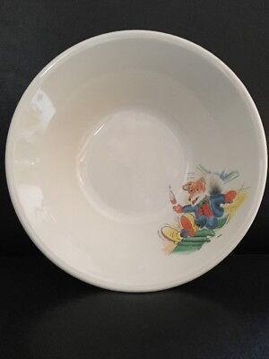 Basil Brush Cereal Bowl Staffordshire Pottery  Ivan Owen Peter Firmin