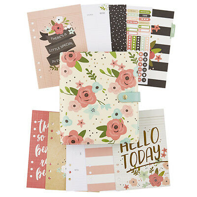 Simple stories Carpe Diem Cream Blossom A5 Planner Boxed Set