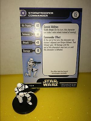 Star Wars Universe #42 Stormtrooper Commander (U)