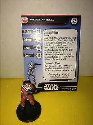 Star Wars Universe #51 Wedge Antilles (R)