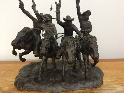 Coming Through the Rye by Frederic Remington Baby Size 7 Inches