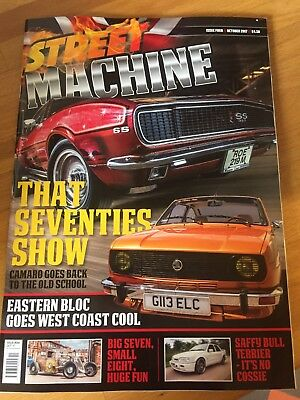 STREET MACHINE UK ISSUE 4 October Will Be Posted Next Day Second Class