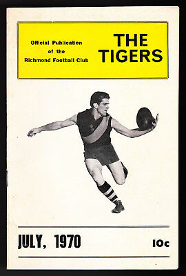 1970 Richmond Football Club official publication, Tigers