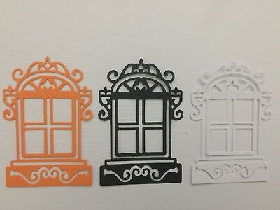 Scrapbooking Die Cuts 10 x Window Die Cuts