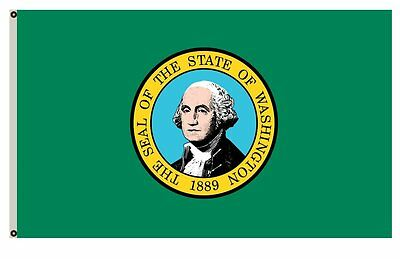 The State of Washington flag 3X5FT